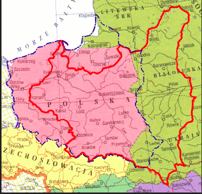 1 map of poland